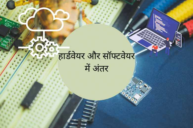 Hardware and Software difference in Hindi